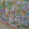 Zeichnung, Tuschmalerei, Pastellmalerei, Mischtechnik