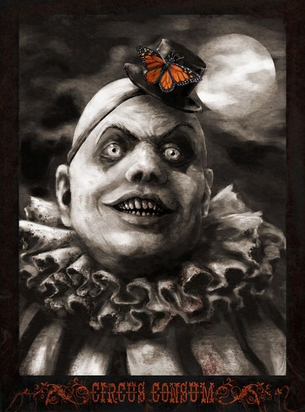 Consum, Zirkus, Hannah boeving, Clown, Horror, Digital