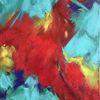 Bunt, Fantasie, Abstrakt, Malerei
