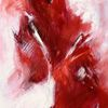 Himbeere, Eis, Sahne, Malerei