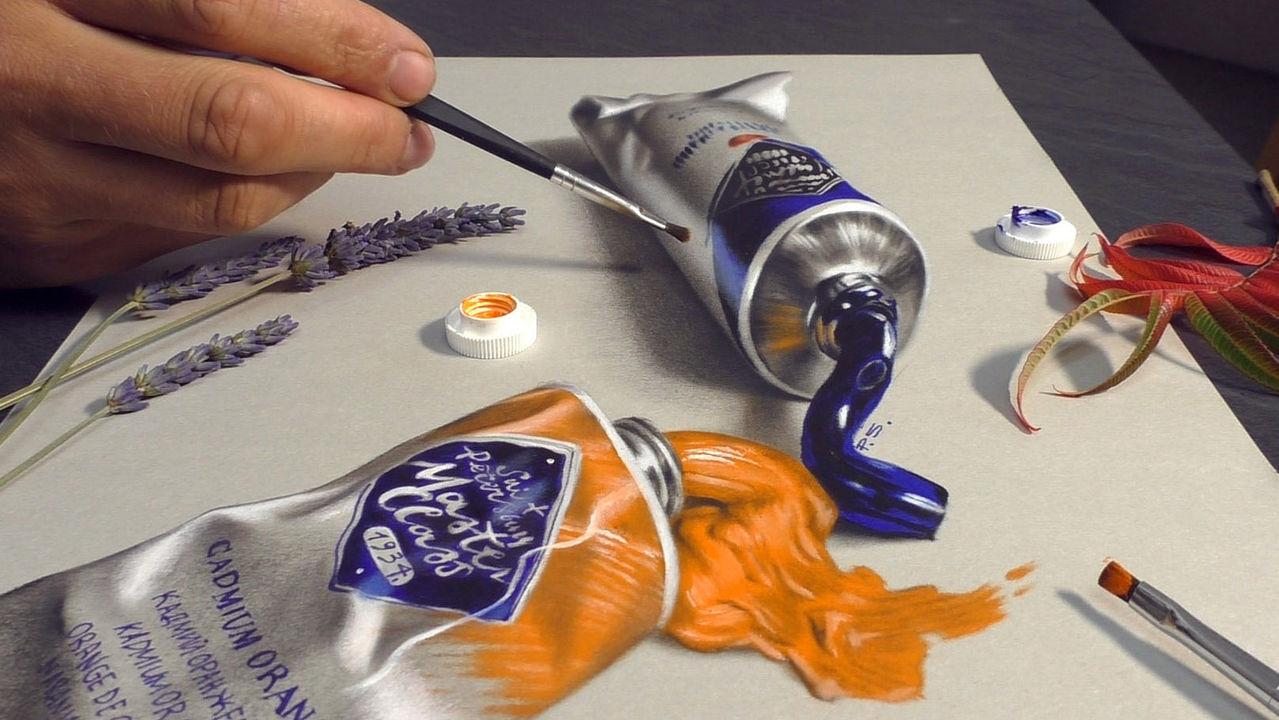 3d Malerei Von Stefan Pabst 3d Pabst 3d Malen Malen Lernen 3d