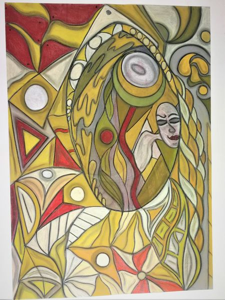 Bunt, Abstrakt, Rund, Fantasie, Wortlos, Malerei
