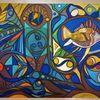 Fantasie, Fisch, Abstrakt, Gestaltung