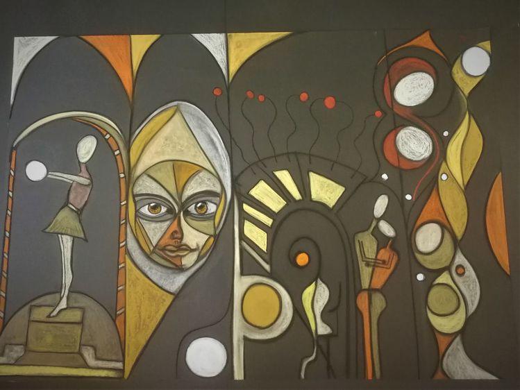 Gesicht, Fantasie, Leben, Bunt, Abstrakt, Kopf