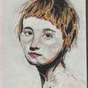 Pastellmalerei, Skizzenbuch, Portrait, Zeichnungen