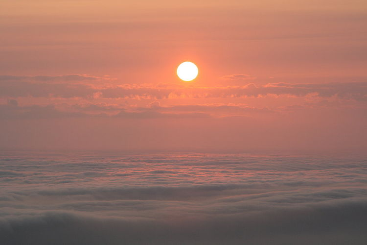 Sonnenaufgang, Hahn, Brocken, Norddeutschland, Raum, Sommer