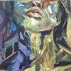 Portrait, Figural, Ölmalerei, Expressionismus
