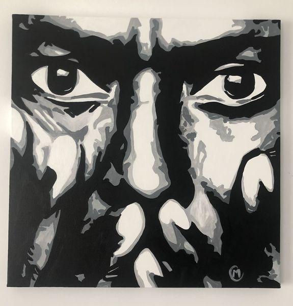 Jazz, Portrait, Prominent, Abstrakt portrait, Rabatt leinwand, Portrait von prominenten