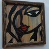Malerei auszeichnungen, Musiker porträts, Miles davis, Dekoration