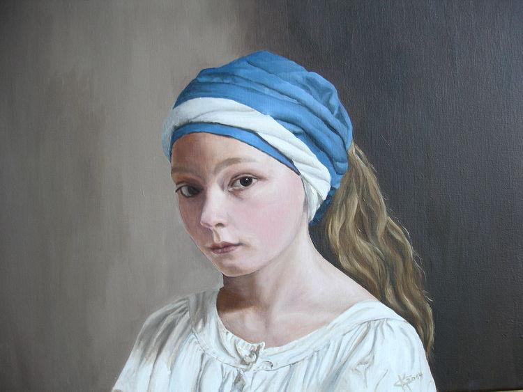 Naturalismus, Portrait, Klassische malerei, Malerei, 2014,