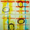 Lack, Vier blätter, Aquarellmalerei, Vlies