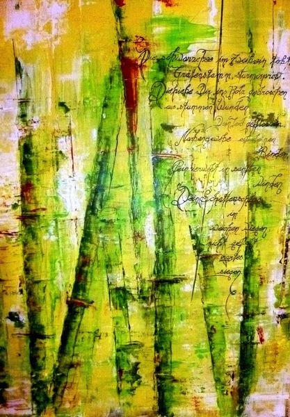 Fee, Traurigkeit, Gedicht, Malerei, Schmerz, Acrylmalerei
