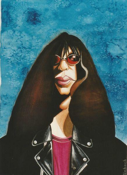 Illustration, Musiker, Punkrock, Joey ramone, Musikant, Ramones