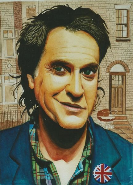 Ray davies, Musiker, Musikant, Künstler, Kinks, Illustration