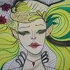 Weiblichkeit, Träumereien, Reiz, Malerei