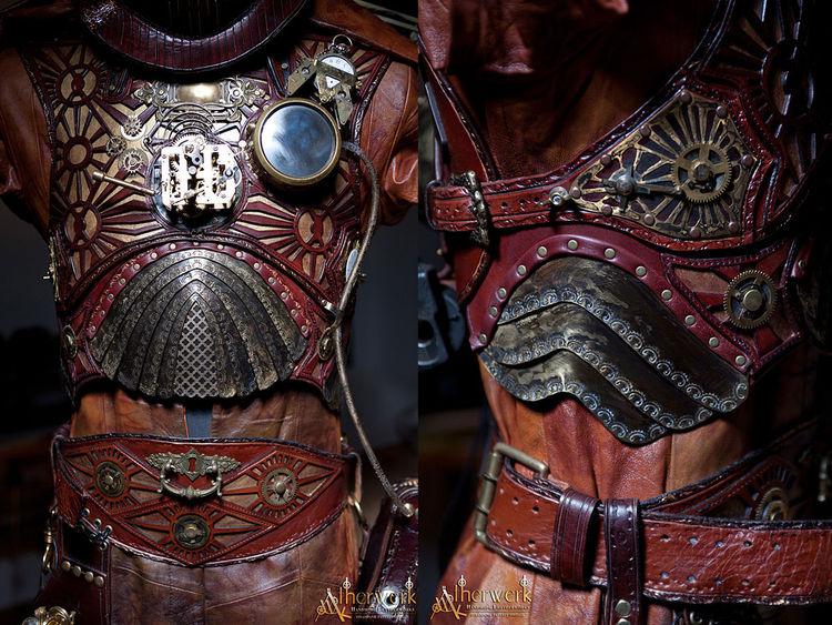 Rüstung, Antik, Filmkostüm, Dampf, Zahnräder, Viktorianisch