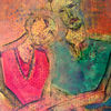 Textur, Vongelde, Acrylmalerei, Frau