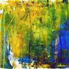 Farbenspiel Nr. 445 - acryl, kunst, künstler, hintergrund, hintergründe, wunderschön, blau, pinsel, leinen, farbe, handwerk, entwurf, goldmedaille, grün, medien,Öl, originell, gemälde, muster, rosa, rot, spiegelung, gestalten, atelier, oberfläche, textur, weiß, gelb, Udo, vo