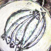 Fisch - acryl, kunst, künstler, hintergrund, hintergründe, wunderschön, blau, pinsel, leinen, farbe, handwerk, entwurf, goldmedaille, grün, medien,Öl, originell, gemälde, muster, rosa, rot, spiegelung, gestalten, atelier, oberfläche, textur, weiß, gelb, Udo, vo