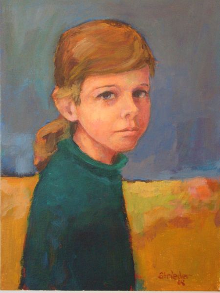 Figural, Portrait, Malerei,