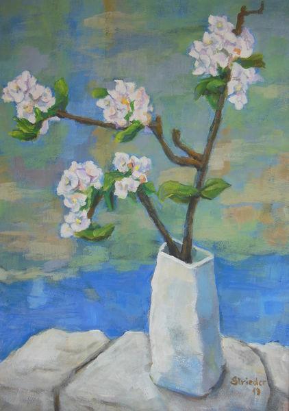 Wörthersee, Wasser, Loretto, Apfelblüten, Frühling, Sonne