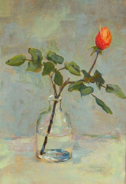 Knospe, Rot, Lyrik, Glas, Für dich, Blumen