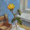 Schatulle, Zimmer, Rose, Blau