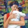 Kind, Kuss, Wunderbar, Muttertag