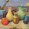 Krug, Farben, Fischer, Küche