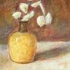 Augenblick, Wunderbar, Silberblatt, Vase