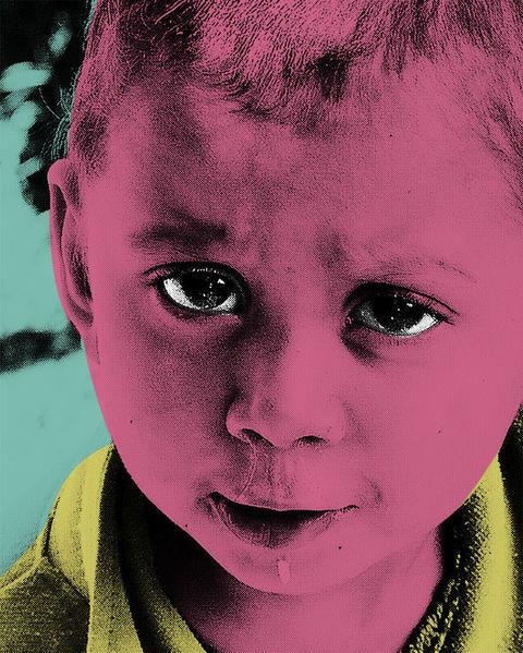 Digital, Kids, Nepal, Popart, Digitale kunst