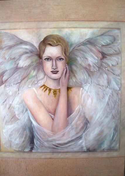 Ölmalerei, Engel, Sanft, Malerei