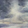 Meer, Wolken, Licht, Aquarell