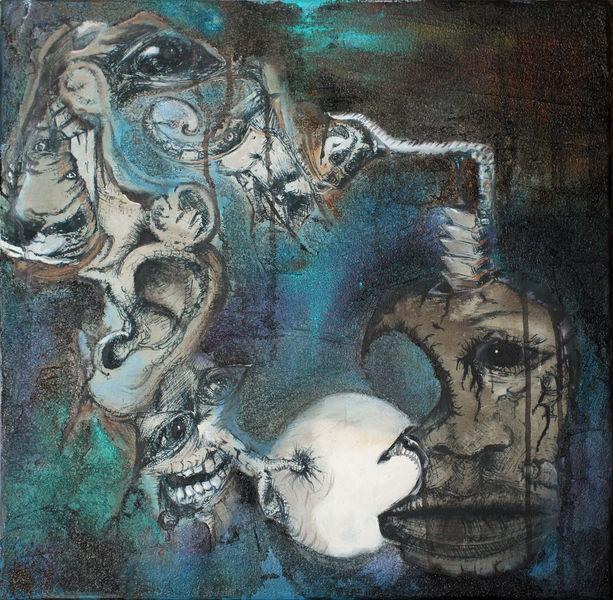 Umbruch, Struktur, Zeitgeist, Malerei
