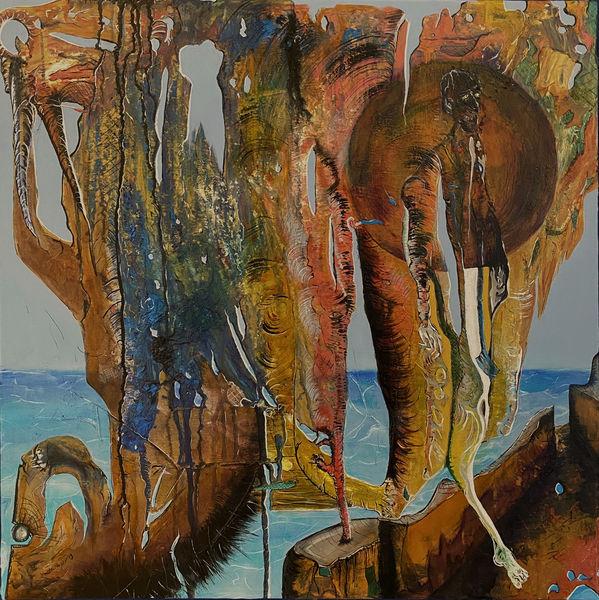 Struktur, Traum, Wahrheit, Malerei, Phase2