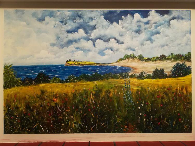 Ostsee, Dänemark, Malerei, Insel,