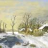 Winter, Schnee, Weihnachten, Digitale kunst