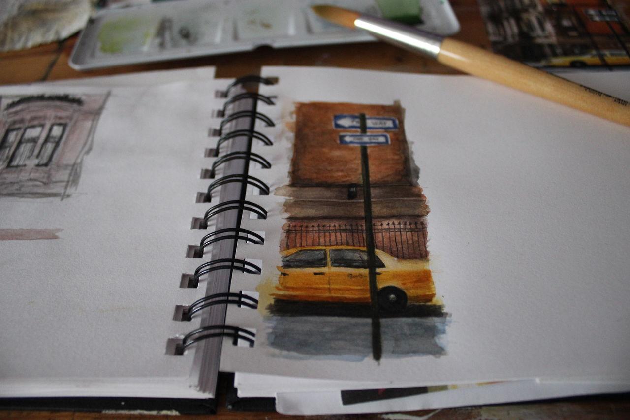 Bild aquarell architektur von melaniegee bei kunstnet for Architektur aquarell