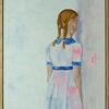Mädchen, Figurativ, Zeitgenössisch, Portrait