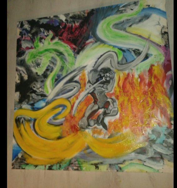 Experimentell, Abstrakt, Künstlerische freiheit, Comic, Spiel, Malerei