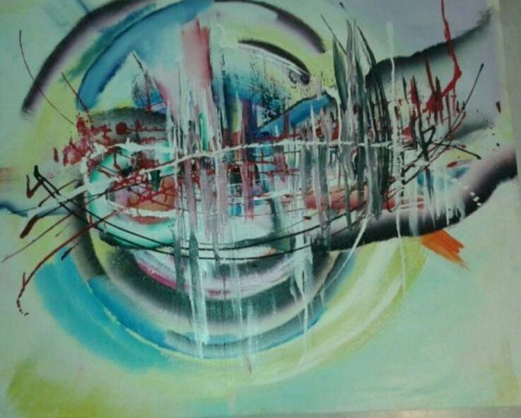 Bunt, Dynamik, Malerei
