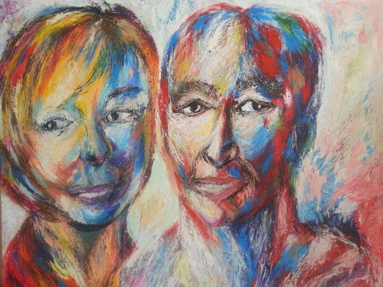 Acrylmalerei, Malerei, Allein