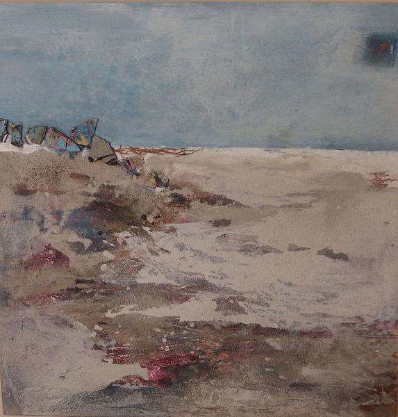 Malerei, Küste, Süd, Afrika