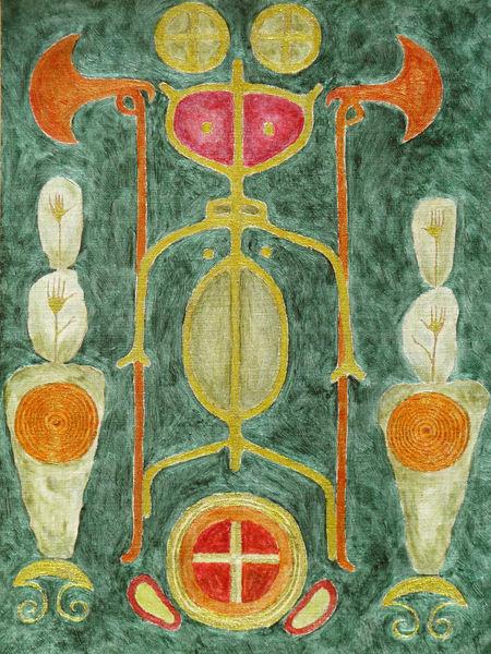 Mythologie, Bronzezeit, Symbolismus, Malerei