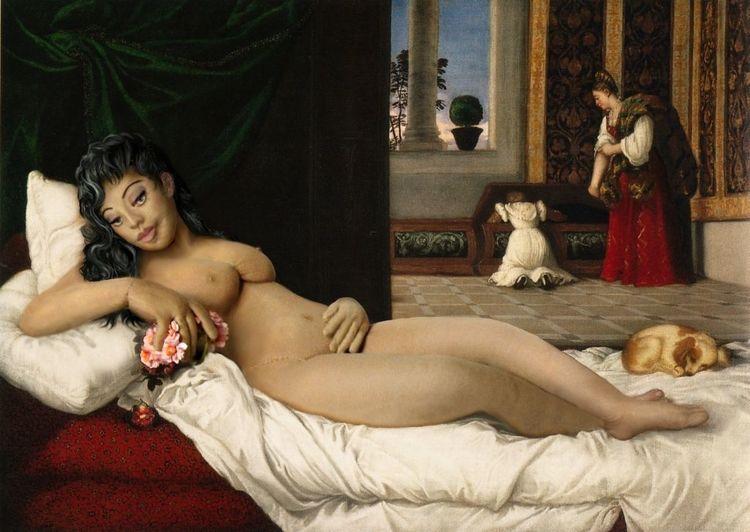 Puppe, Urbino, Frau, Figural, Portrait, Alte meister