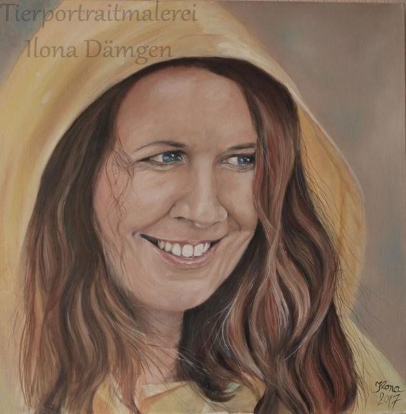 Portrait, Kaputze, Regen, Tropfen, Friesennerz, Regenmantel