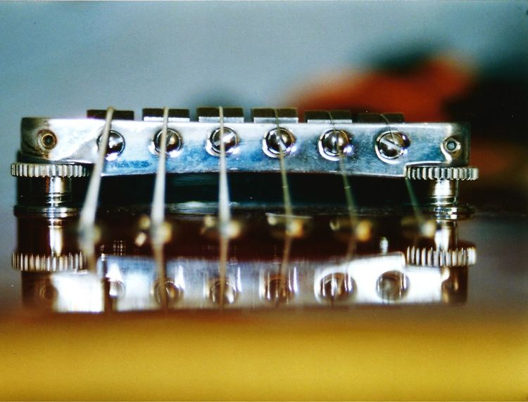 Spiegelung, Gitarre, Fotografie, Stillleben