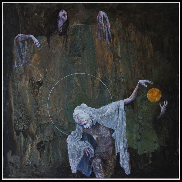 Düster, Dunkel, Acrylmalerei, Rost, Figural, Pouring