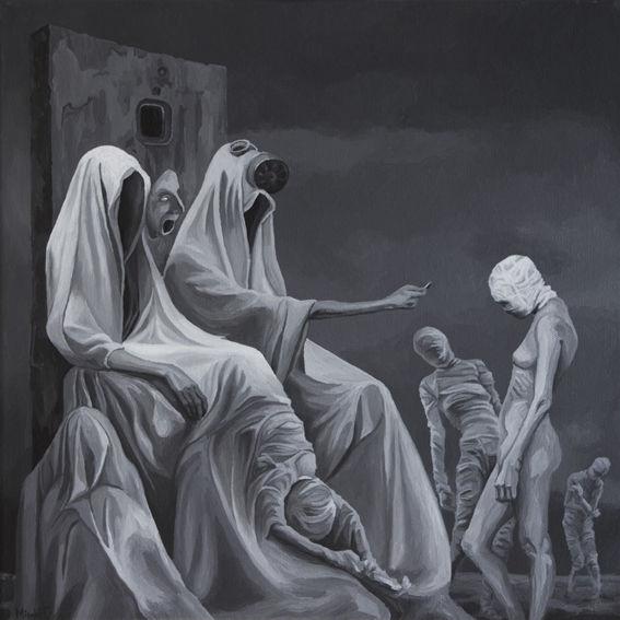 Figural, Acrylmalerei, Surreal, Malerei