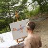 Formen, Abstrakt, Prägen, Ölmalerei